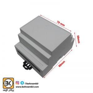 جعبه صنعتی s: 5.9 x 8/8 x 7 -Cm / رک خور / سفید