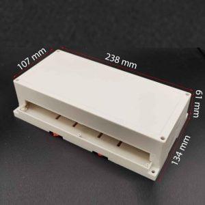 جعبه صنعتی s: 6 x 13 x 23 -Cm / رک خور