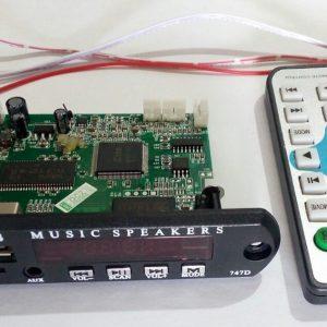 ماژول USB فلشخور تصویری با خروجی AV ویدیو موزیک پلیر