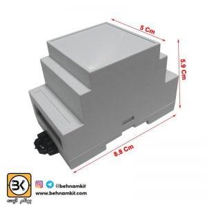 جعبه صنعتی قابلیت نصب روی رک 88x5 mm