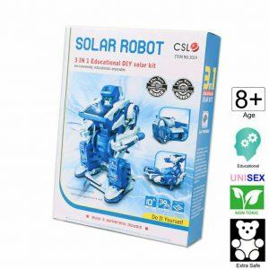 ربات خورشیدی مدل فضایی
