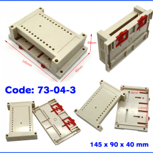 جعبه های صنعتی قابلیت نصب روی رک
